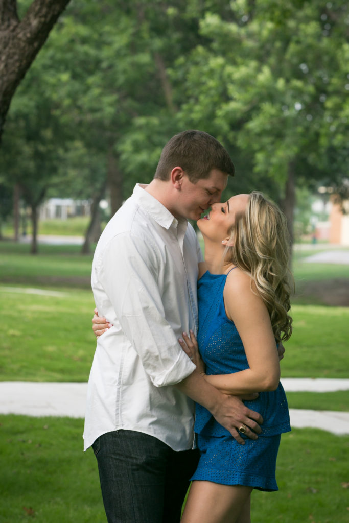 Outdoor Engagement Photography at Haggard Park
